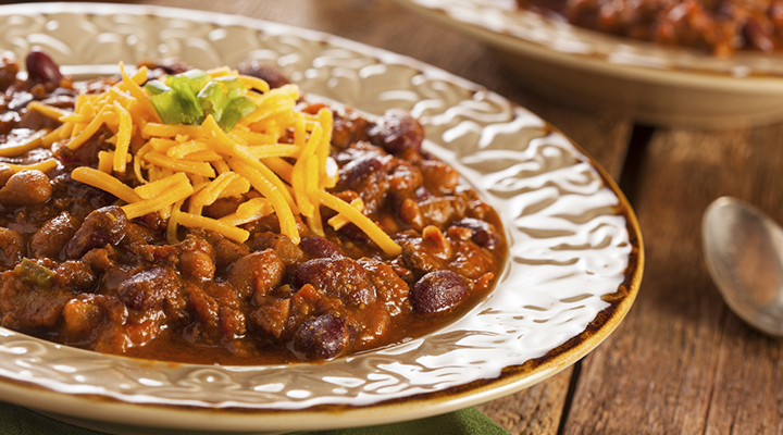This chili recipe is good for you AND your smile!