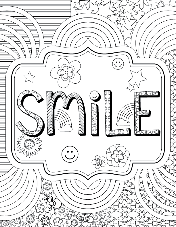 Delta Dental of Wyoming - Adult Dental Coloring Pages-02