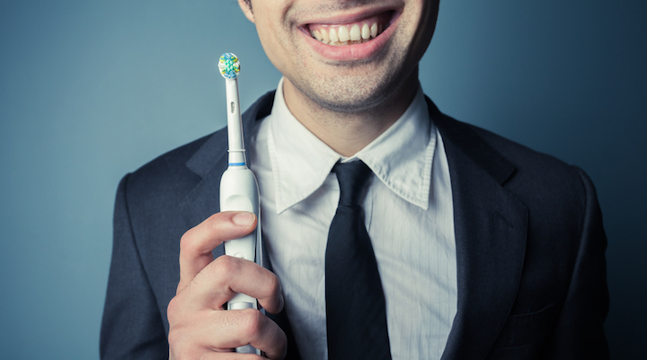 Get caught flossing on the job! Why your smile can benefit from a floss break.