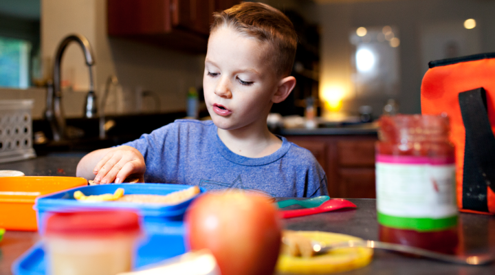 Healthy School Lunches [INFOGRAPHIC]