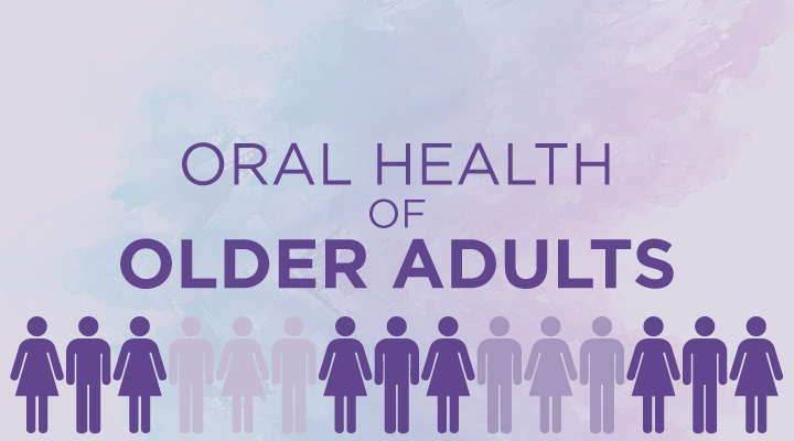 Oral Health of Older Adults Infographic