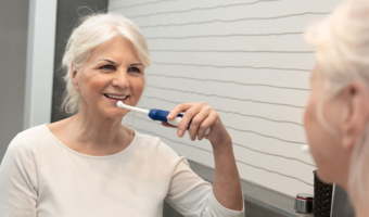 Learn about the connection between oral health and joint inflammation, plus how to brush and floss with arthritis.