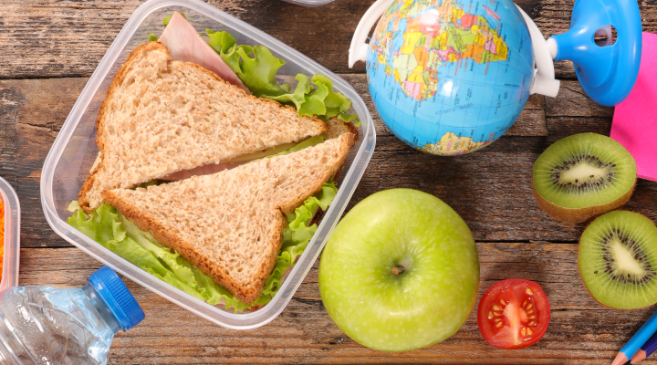 Back to School Lunches for Healthy Toddlers and Preschoolers