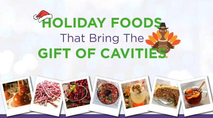 Holiday Foods that Bring the Gift of Cavities [INFOGRAPHIC]