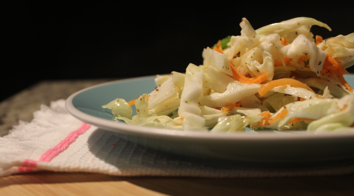 Looking for a low-fat, vinegar-based slaw that's perfect for anything from a side dish for barbeque to a topping on your tacos? This coleslaw recipe without mayo will be your new summer staple: